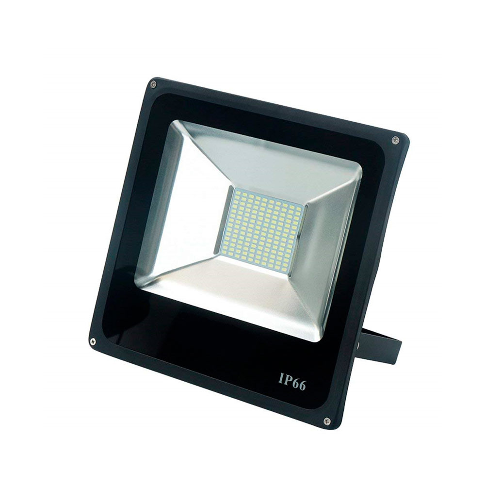Projetor Led 50w Slim Luz Branca IP66 Bivolt 4500lm - Up LED