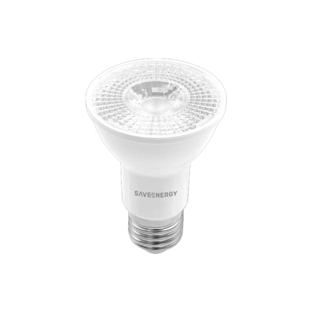 Lâmpada Super LED Par20 7W Bivolt 4000K Neutra Crystal 525lm - Save Energy LED