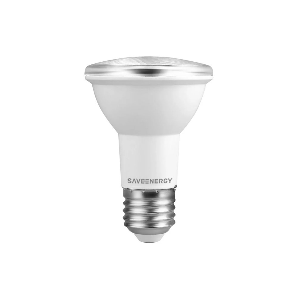 Lâmpada Led PAR20 7W Bivolt Luz Neutra - Save Energy