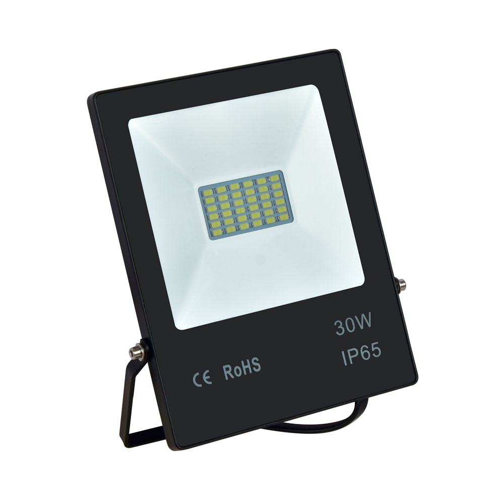 Refletor Led 30w Slim Ipad IP66 2700lm Branco Frio Bivolt – Up Led